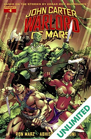 John Carter: Warlord of Mars #4: Digital Exclusive Edition